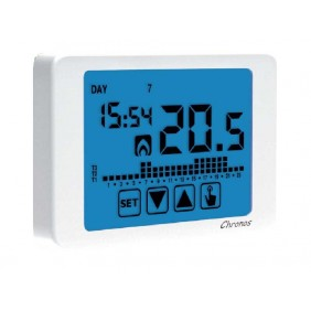 Vemer programmable Thermostat wall Touch Screen battery VE451100