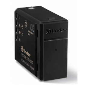 Dimmer Flush-mounted Finder YESLY 200W Bluetooth Black 15718230B202