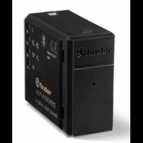 Dimmer Incasso Finder YESLY 200W Bluetooth Nero 15718230B202