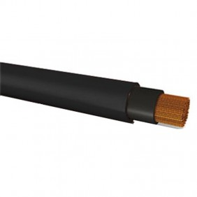 Single core cable for flexible photovoltaic 1X4MMQ Black