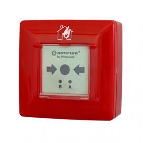 Pulsante antincendio manuale indirizzato a rottura vetro Notifier P700