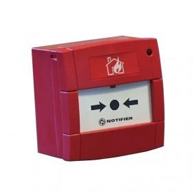 Bouton manuel dirigé vers bris de verre en Déclarant M5ARP02SGN02601
