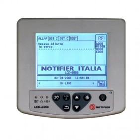 Pannello di Ripetizione LCD per centrali Notifier serie AM LCD6000N