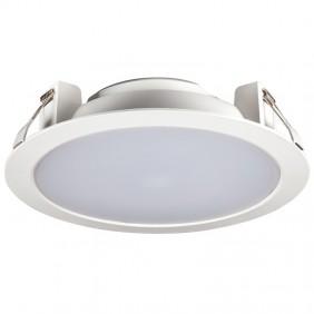 Lampe Plat Led encastré Beghelli Downlight Compacte 25W 4000K 71057