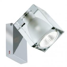 Lámpara de pared, lámpara de techo Fabbian Cubo transparente GU10 D28G0300