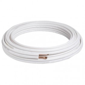 """Insulated tube, Copper air insulated 3/8"""" 50 ft NTE0238.08"""