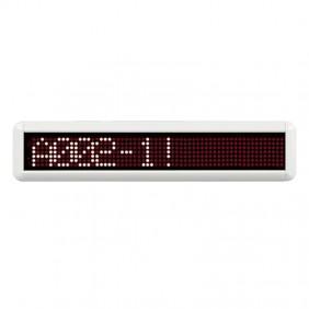 La Pantalla LED del corredor alfanuméricos Bticino sola cara CMSV3000