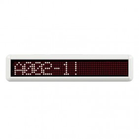 LED Display of the corridor alphanumeric Bticino single face CMSV3000