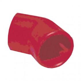 Curva a 45° Notifier antincendio in ABS colore rosso FAA-E25-45R