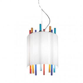 Sospensione La Murrina Lollipop vetro di Murano multicolore 1XE27 17006