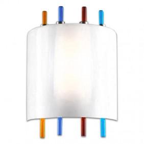 Applique La Murrina Lollipop in vetro multicolore di Murano R7s IP20 16995