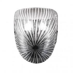 Applique La Murrina Graffio cristallo bianco 2XE14 IP20 37633