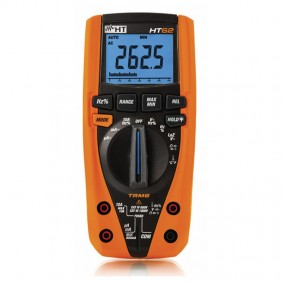 Digital multimeter HT62 TRMS measurement of the temperature with a probe HR000002