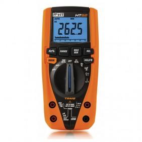 Multimetro digitale HT62 TRMS misura di temperatura con sonda HR000002