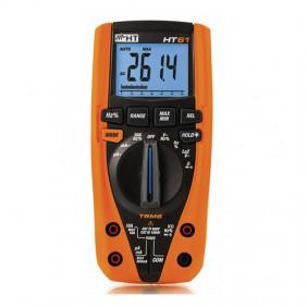 Multimetro digitale HT61 TRMS 6000 punti di misura AC/DC HR000003