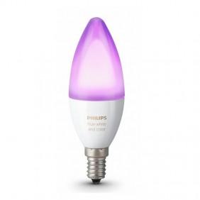 Lampada a Candela Philips HUE 6,5W E14 Wi-fi multicolor 69516600