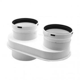 Kit Flue Baxi split adjustable 7102689