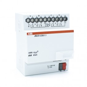 Actuator for rolling shutters Abb KNX JRA/S 4 Channels KNXG005
