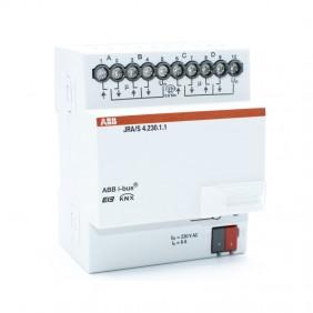 Attuatore per tapparelle Abb KNX JRA/S 4 Canali KNXG005