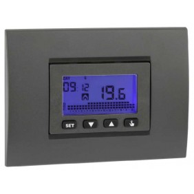 Vemer programmable Thermostat flush-mounted...