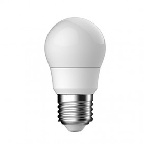Lampadina Sfera a Led Ge Lighting 3,5W E27 2700K opale 93063958