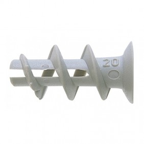 Wall plugs for plasterboard Fischer DUOBLADE without screws 00545675
