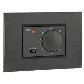 Vemer room Thermostat flush-mounted...