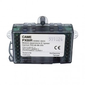 Expansion module BPT 8 inputs on bus for PXC48 PXC96 PXC200, 846NC-0020