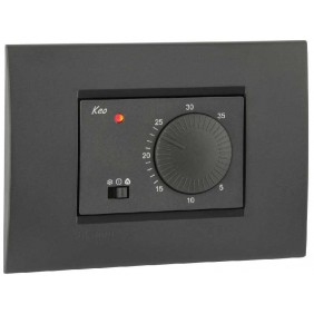 Vemer room Thermostat flush-mounted, 230V KEO-B VN171500