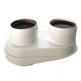 Kit sdoppiatore scarichi orientabile Baxi per scaldabagni KHG71413621