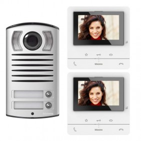 Bticino CLASSE100 V16B 2-Wire Two-Way Video Door Phone Kit 364622