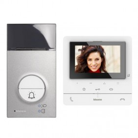 Video Door Phone Kit Bticino CLASSE100 V16E 2 Wire Single Family 364612