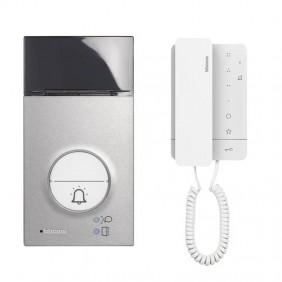 Bticino CLASSE 100A16M 2-Wire Single Family Intercom Kit 364231