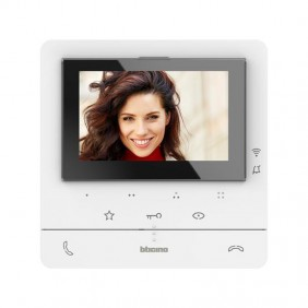 Video intercom connected to the Bticino Classe 2-Wire Wi-Fi hands-free 344682