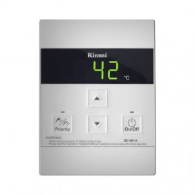 Thermostat remote for water heaters Rinnai MC-601