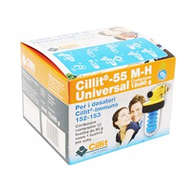 The packaging of salts, polyphosphates, universal 55 M-H 12 sachets 80g 10048