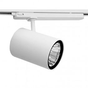 Proiettore a Binario Side 31W 3000K colore Bianco 67308-LBC-40
