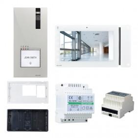 KIT Videocitofono Comelit QUADRA Monofamiliare WI-FI VIP 8561X