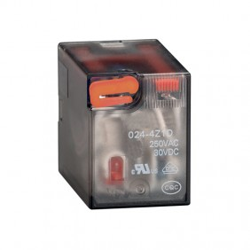 Relay industrial Lovato 7A 2 trade 230VAC + LED HR602CA230