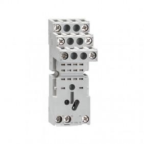 Zoccolo per relè industriali Lovato con 2 scambi per serie HR602C HR6XS21