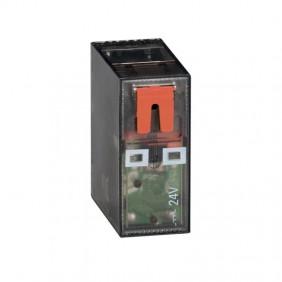 Mini Relè Lovato 16A 1 scambio 24VAC + LED HR501CA024