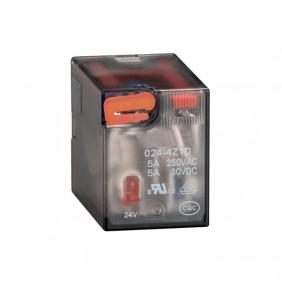 Relais industriel Lovato 5A 4 échanges 24VAC + LED HR604CA024