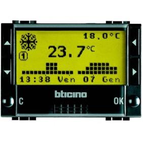 BTICINO LIVINGLIGHT CRONOTERMOSTATO L4451