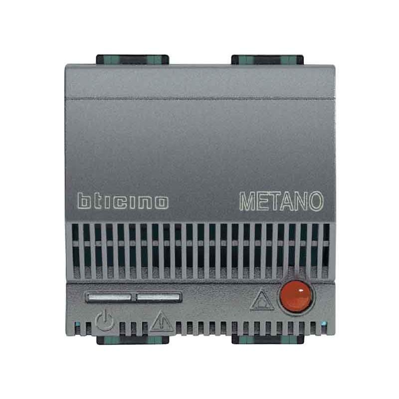 RILEVATORE GAS BTICINO LIVING INTERNATIONAL METANO L4511/12