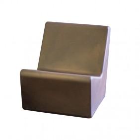 Chaise de Jardin TARIDA s'ASSEOIR 66 de la couleur de la Souris MOBTDS66KXNW