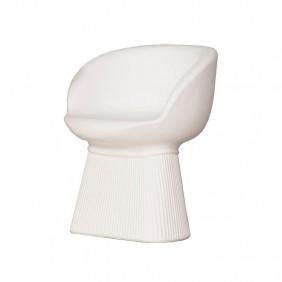 Chaise de Jardin MALLORCA à 60 couleur Blanc MOBMA060BXNW