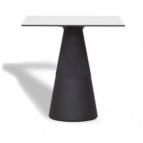 Table New Garden ITHACA 60 Black polyethylene MOBITC60NXNW