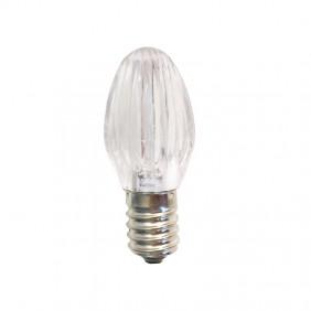 LED bulb for beads christmas 0,28 W E14 12V cool white T12VL1BN