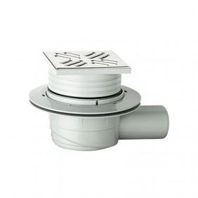 Sifoide sifone OMP a pavimento in ABS 105X105mm 265.201.8