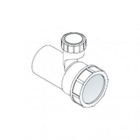 Le manchon d'extension 32 en PP pour la sortie siphons OMP avec aérateur 2159.050.5